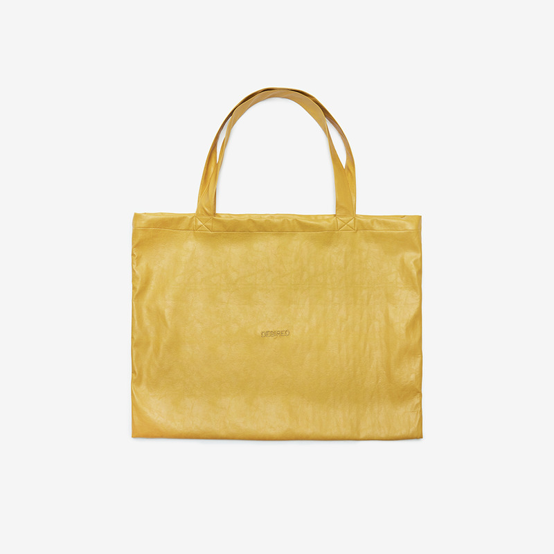 [D.PRIQUE] TOTE BAG / MUSTARD