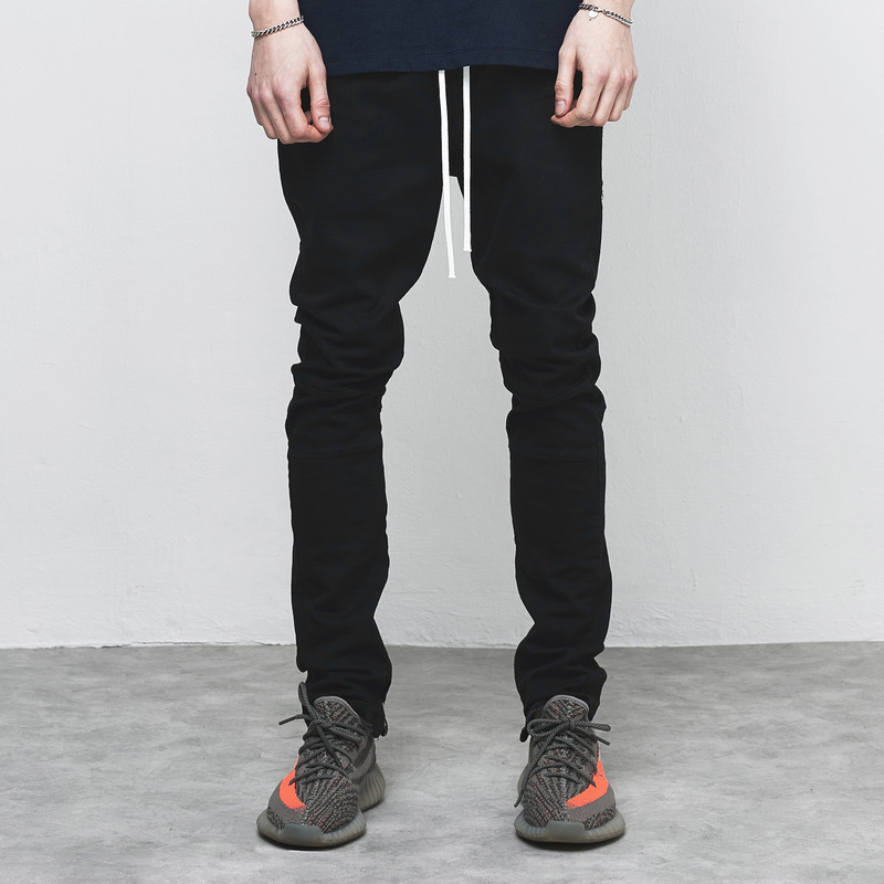 [D.PRIQUE] ZIP DENIM PANTS