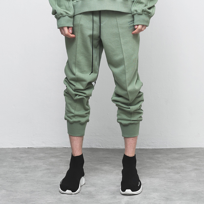 [D.PRIQUE] SWEAT JOGGER PANTS / MINT GREEN
