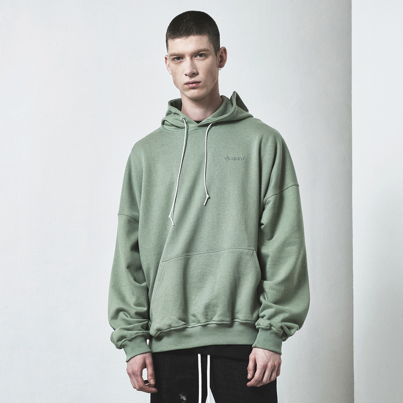 [D.PRIQUE] OVERSIZED HOODIE / MINT GREEN
