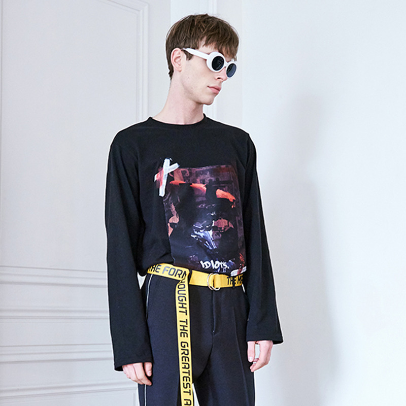 [IDIOTS] VERMEER LONG SLEEVE T-SHIRS