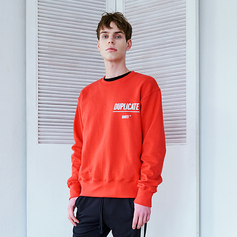 [IDIOTS] SCARLET PINK SWEAT SHIRTS