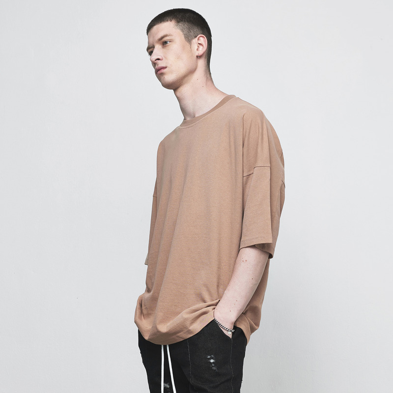 [D.PRIQUE] OVERSIZED T-SHIRT / RUST