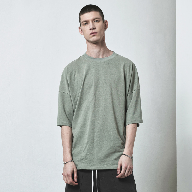 [D.PRIQUE] OVERSIZED T-SHIRT / MINT GREEN