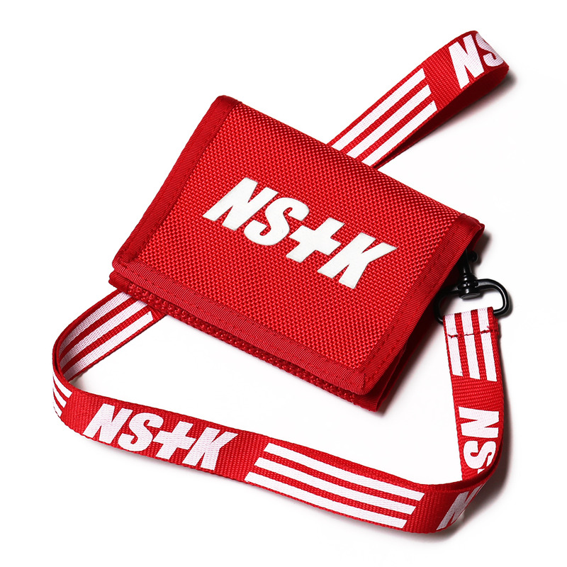 [NSTK] NSTK NECKLACE WALLET (RED)