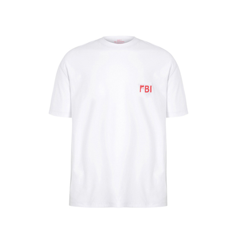 [SAINT SHOW] FBI & PISTOL REVERSIBLE T-SHIRT WR