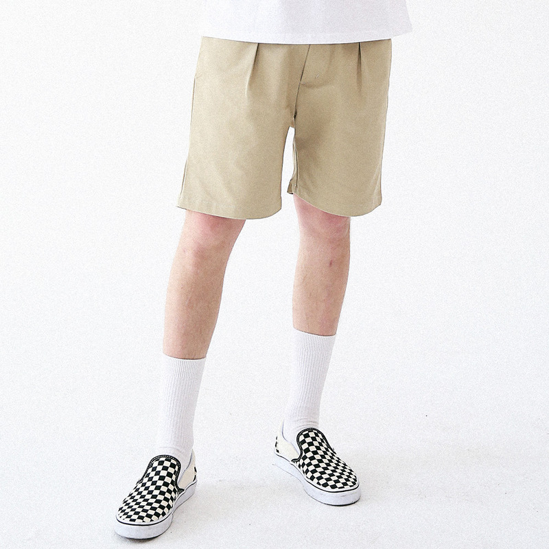 [MASSNOUN] SENSE COTTON SHORT PANTS MUVSP003-BG
