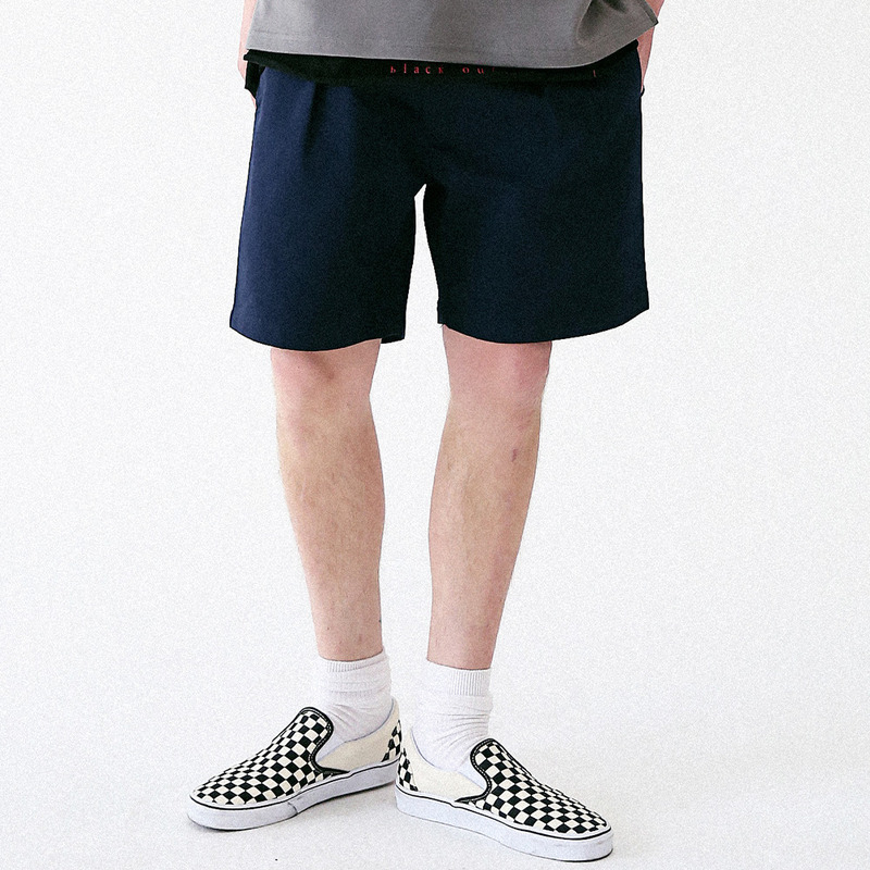 [MASSNOUN] SENSE COTTON SHORT PANTS MUVSP003-NV