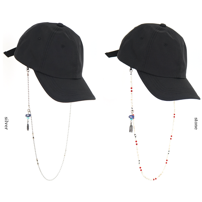 [WHATEVER] CAP x EYEWEAR HOLDER (BLACK)