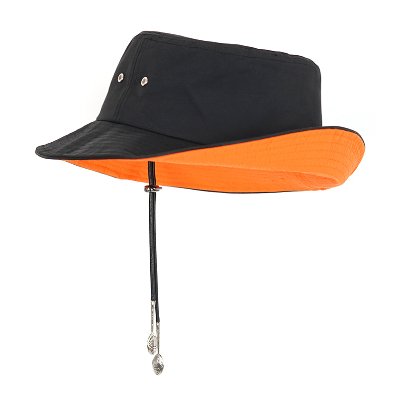 [WHATEVER] STRAP BUCKET HAT