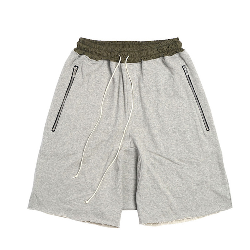 [DEADEND] GREY DRAWSTRING SHORT PANTS