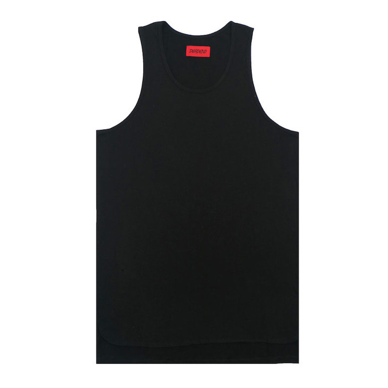 [DEADEND] BLACK LAYERED SLEEVELESS