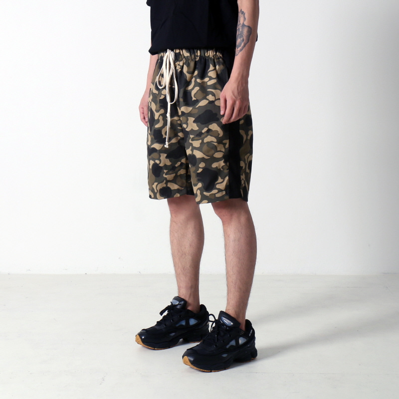 [쿠드그라스 연말 FINAL SALE] [EPTM] TRACK SHORTS (HUNTING CAMO)