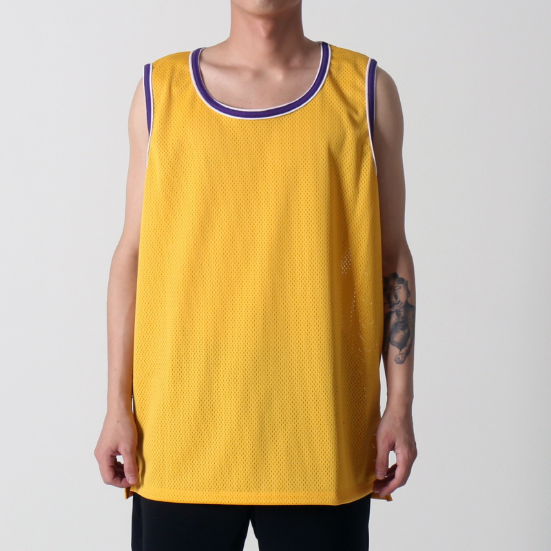 [$ SHOP SALE] [EPTM] HI LO MESH TANK (YELLOW)