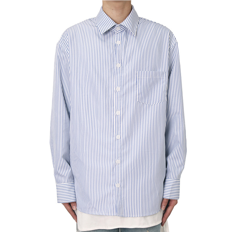 [CLACO] STRIPE SHIRTS V2 (WHITE)