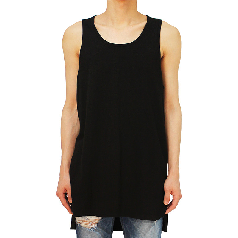 [CLACO] TANK TOP (BLACK)