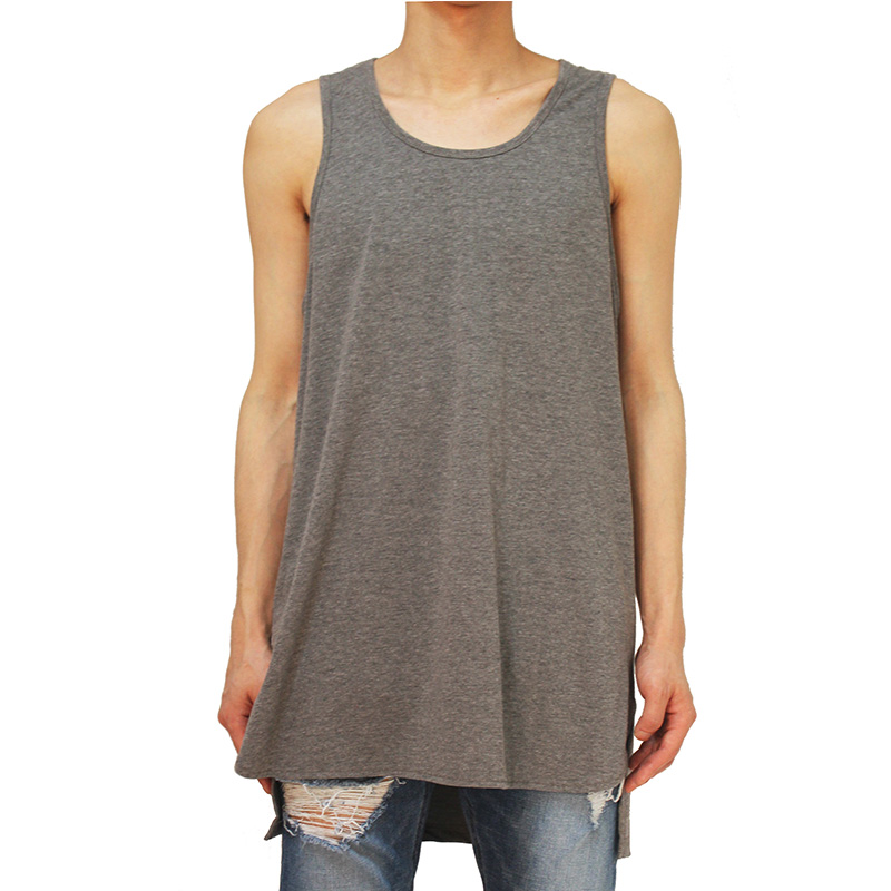 [CLACO] TANK TOP (GRAY)