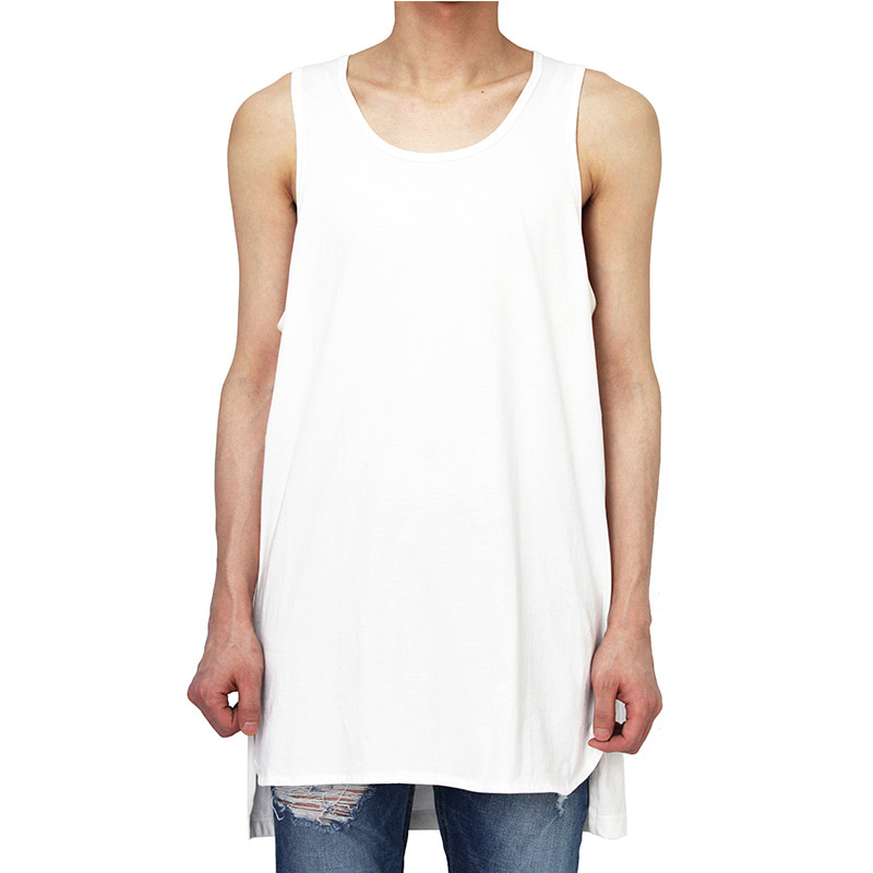 [CLACO] TANK TOP (WHITE)