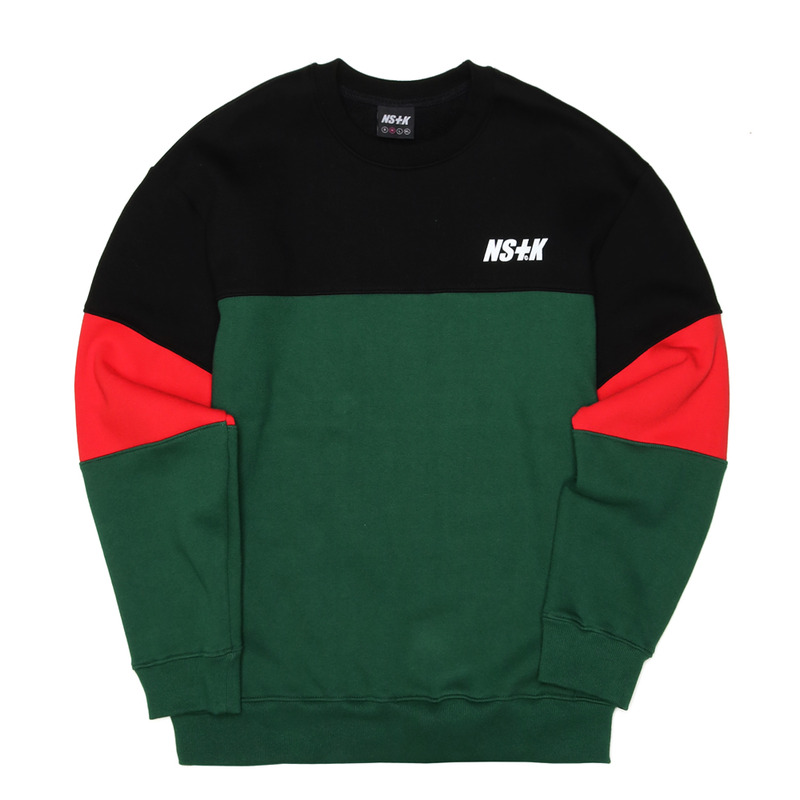 [NSTK] COMPLEMENT SWEATSHIRTS (GREEN)