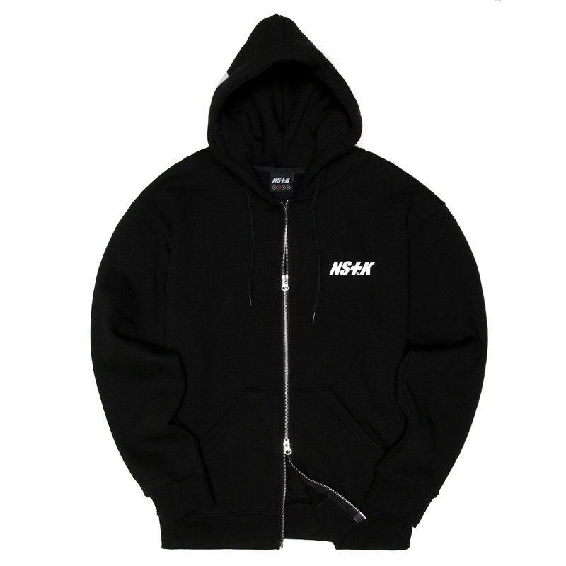 [NSTK] NSTK ACE HOOD ZIP-UP (BLK)