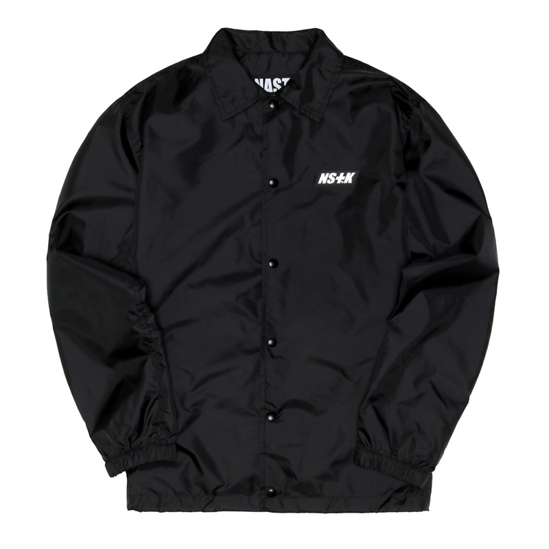 [NSTK] NSTK ACE COACH JACKET (BLK)