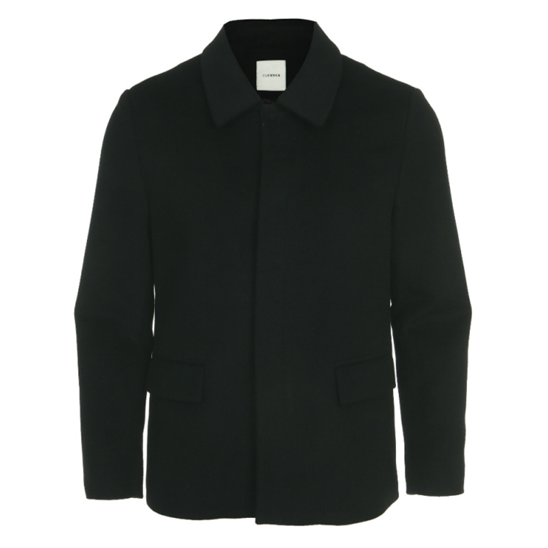 [CLEMMRM] DONA WOOL JACKET (BLACK)
