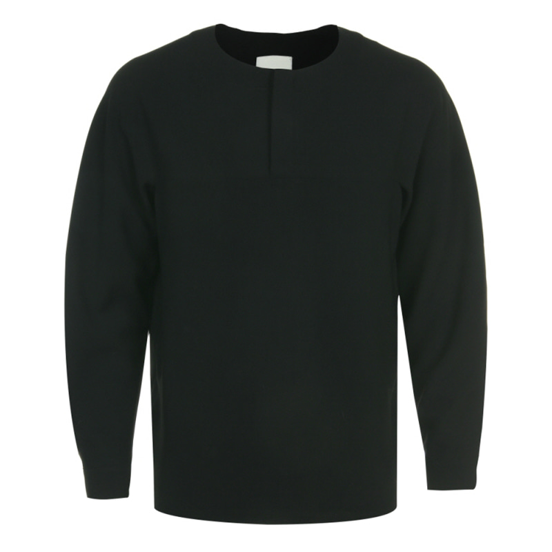[CLEMMRM] WELL GROOMED SWEATSHIRTS (BLACK)