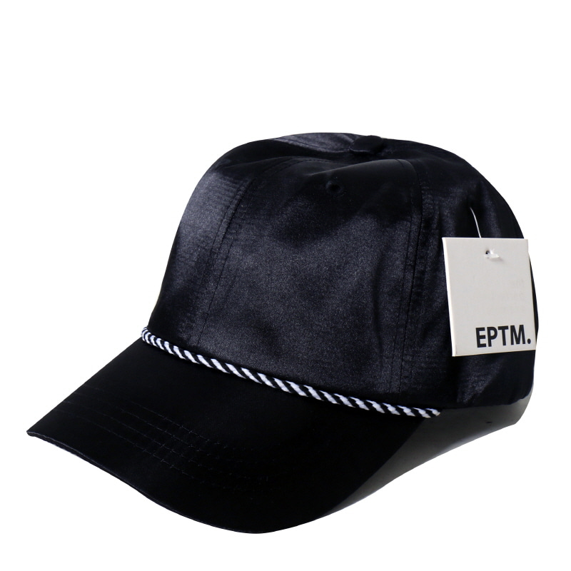 [$ SHOP SALE] [EPTM] SATIN DAD CAP (BLACK)