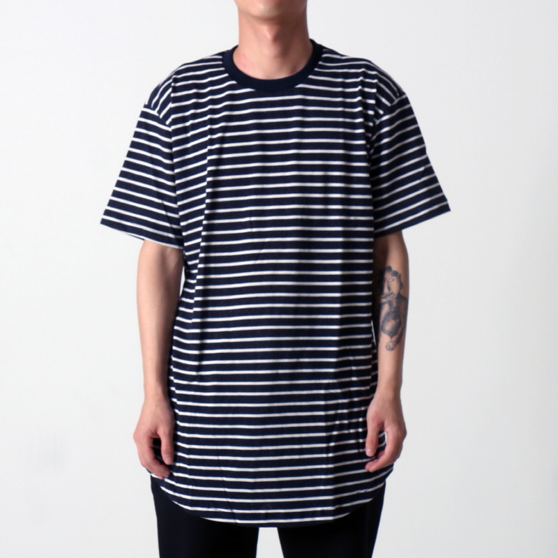 [$ SHOP SALE] [EPTM] STRIPE 2.0 OG LONG TEE (NAVY/WHITE)