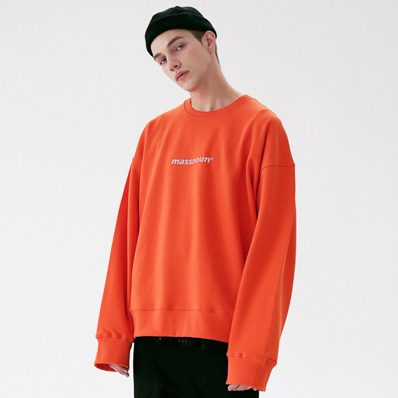 [MASSNOUN] MOVEMENT OVERSIZED CREWNECK MFVCR002-OR