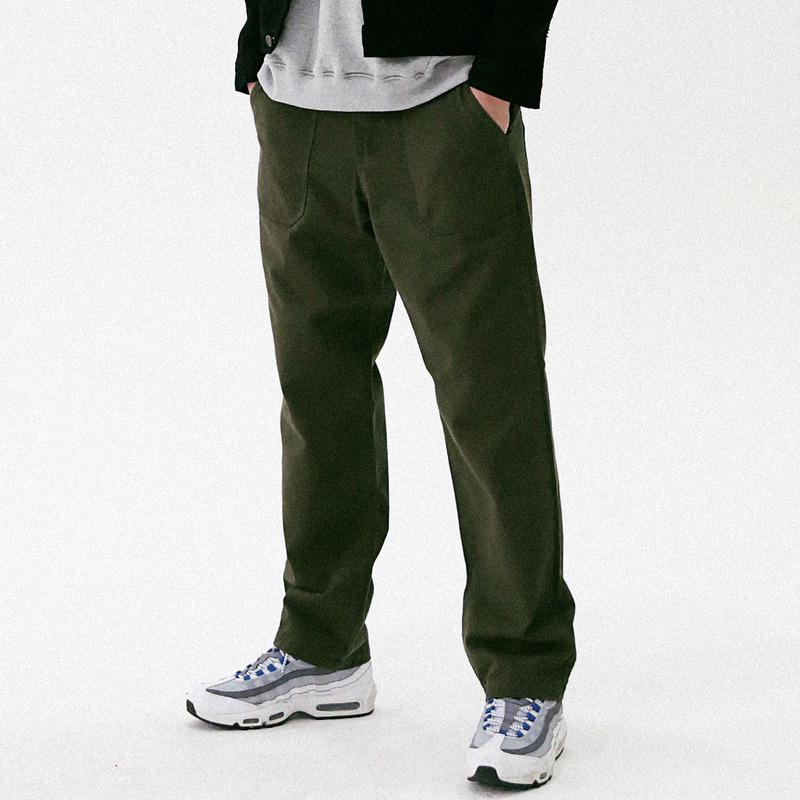 [MASSNOUN] FULL WORK FATIGUE PANTS MFVCP003-KK