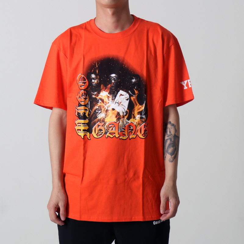 [$ SHOP SALE] [YRN] MIGOS GANG TEE (ORANGE)