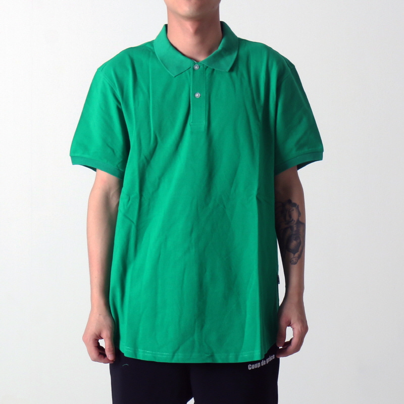 [$ SHOP SALE] [EPTM] SCOOP PIQUE POLO (GREEN)