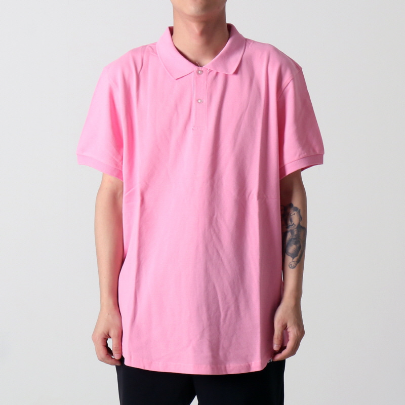 [$ SHOP SALE] [EPTM] SCOOP PIQUE POLO (PINK)