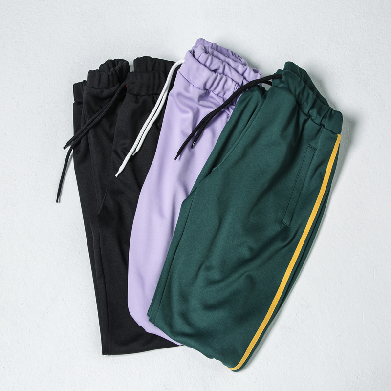[WANTON] WANTON DOUBLE LINE JOGGER PANTS