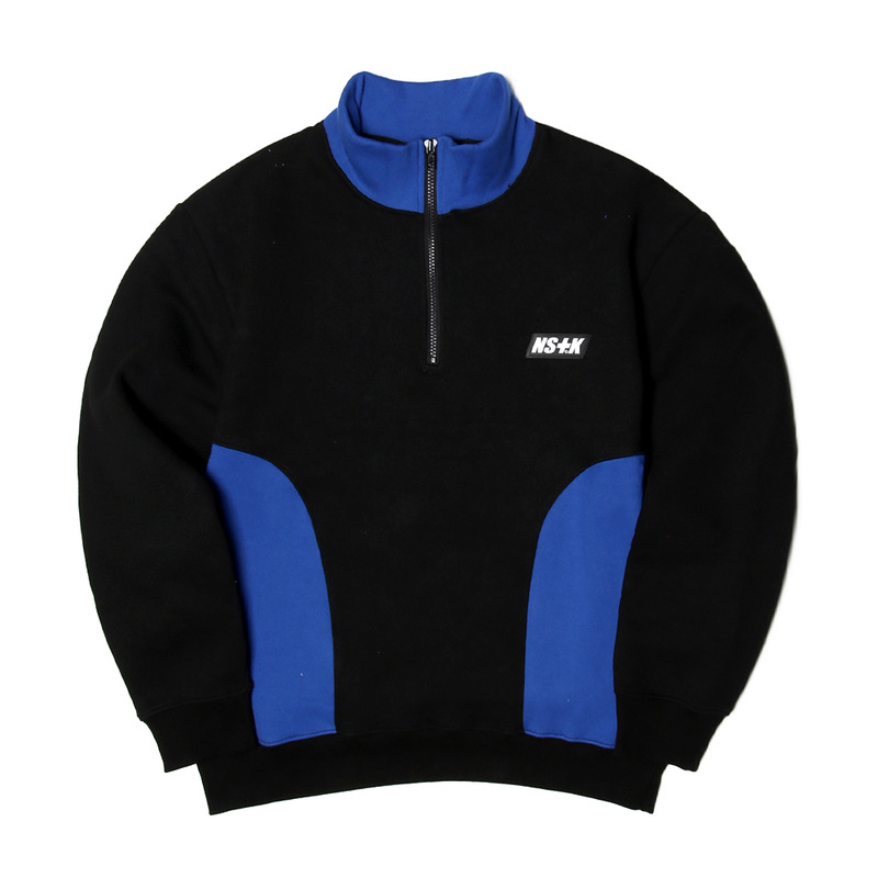 [NSTK] NSTK ZIP-UP NECK (BLK)