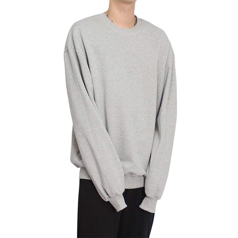 [CLACO] STITCH SWEAT SHIRT (GRAY)