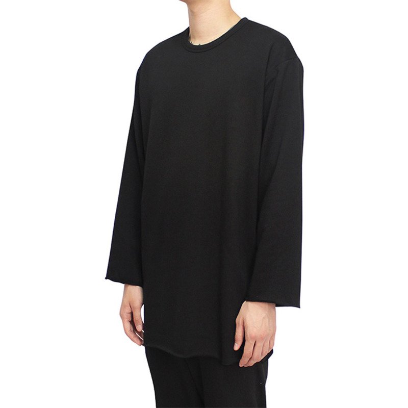 [CLACO] CUTTING LONG SLEEVE (BLACK)