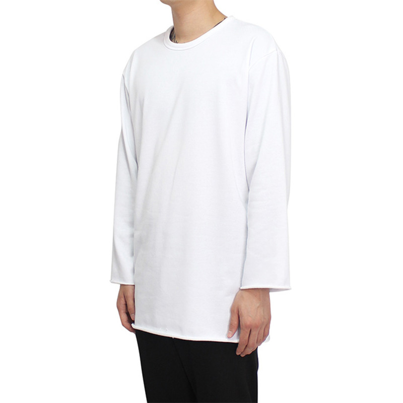 [CLACO] CUTTING LONG SLEEVE (WHITE)