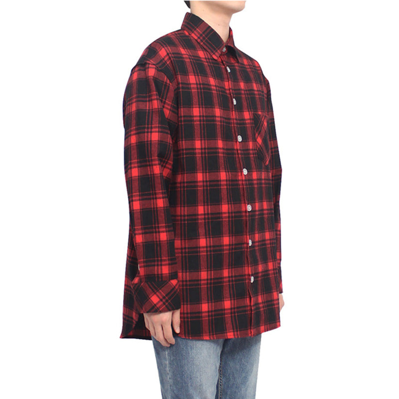 [CLACO] FLANNEL SHIRTS V3 (RED)