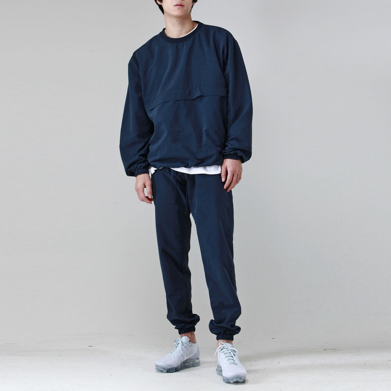 [TAKEASY] BRUSHED WINDCHEATER SET (NAVY)