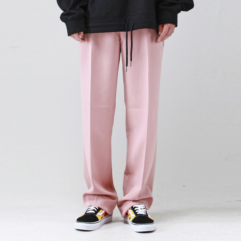 [TAKEASY] WIDE SLACKS (PINK)