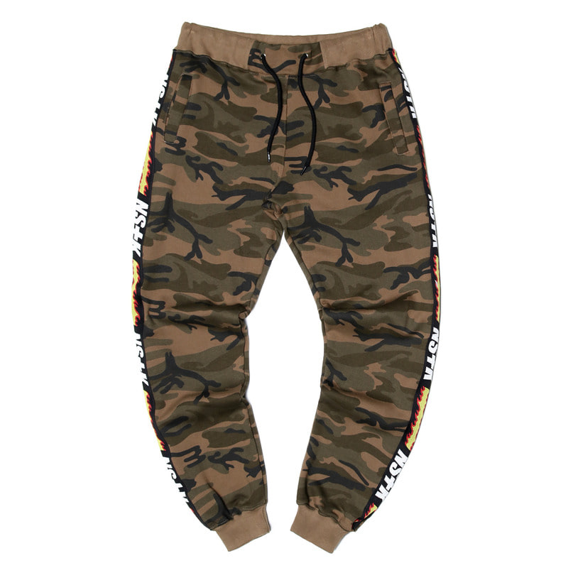[NSTK] FLAME FURY SWEAT PANTS (CAMO)