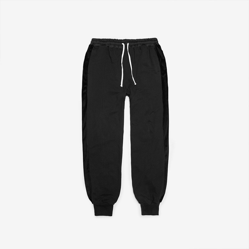 [DPRIQUE] TRACK JOGGER PANTS - BLACK