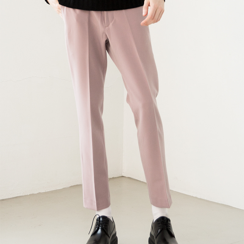 [IDIOTS] GREY ROSE SLACKS