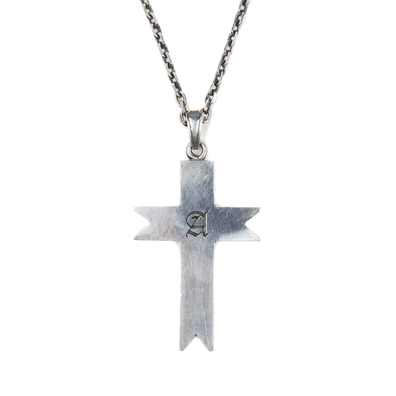 [AGINGCCC] 125# A SIGNET CROSS NECKLACE