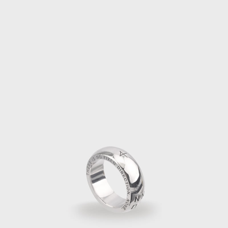 [NONENON]PLUMP RING (SILVER)