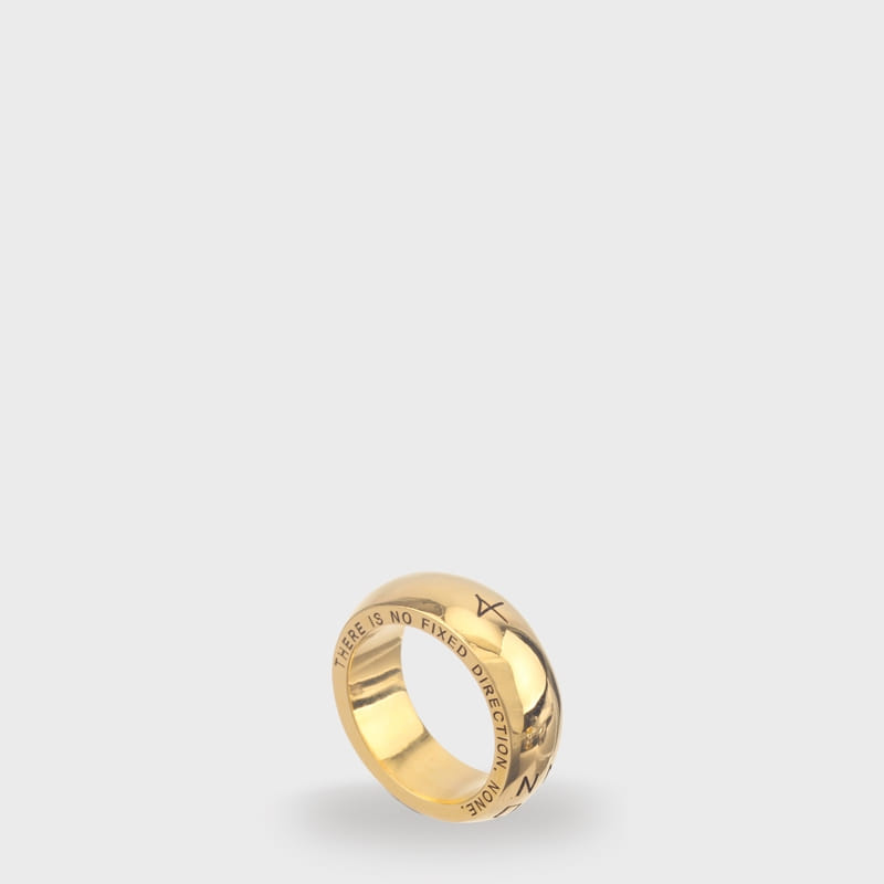[NONENON]PLUMP RING (GOLD)