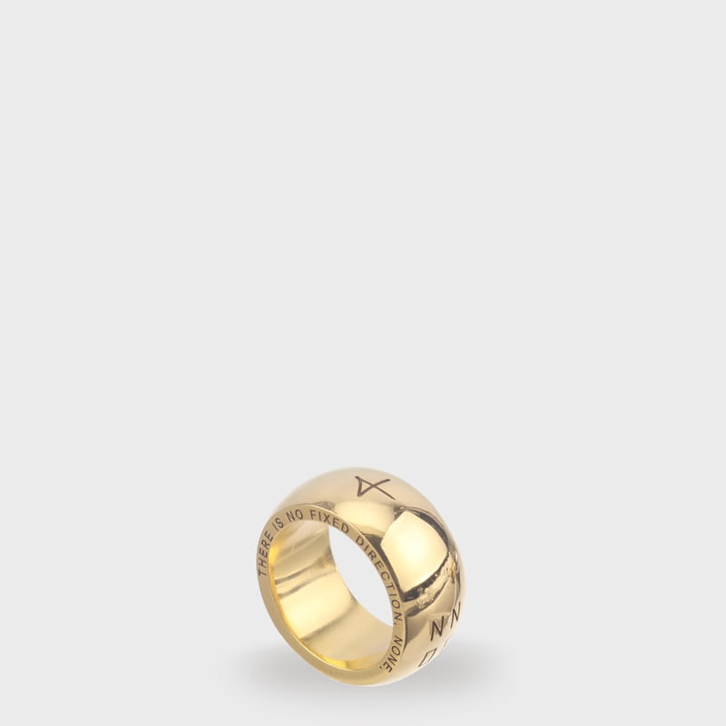[NONENON]PLUMP RING 2 (GOLD)