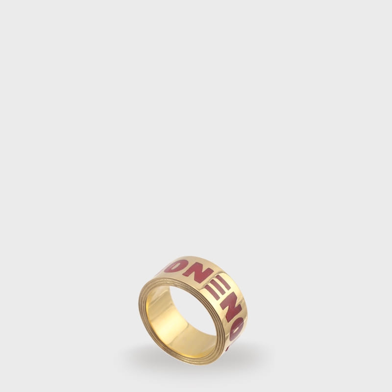 [NONENON] NONENON TAPE RING (GOLD)